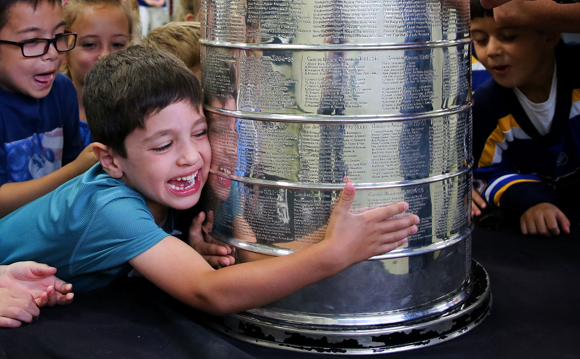 Hugging the Cup